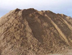 песок карьерный с карера